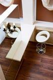 Tabletop καθρεφτών και φραγμών τοίχων τοπ άποψη Στοκ φωτογραφία με δικαίωμα ελεύθερης χρήσης