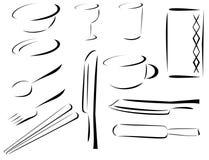 Tabletop στοιχεία Στοκ Φωτογραφίες
