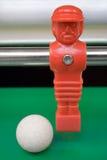 tabletop футбола голкипера Стоковое Изображение RF