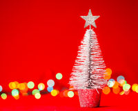 Tabletop Christmas tree Stock Images