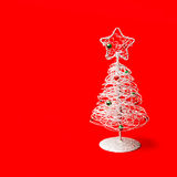 Tabletop Christmas tree Stock Photos