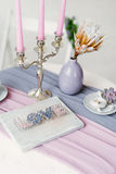 Tabletop decorations Stock Photos