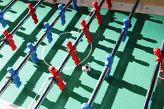 Tabletop football Stock Images