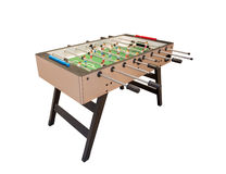 Tabletop football game. Royalty Free Stock Images