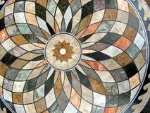 Tabletop modelado circular Fotografia de Stock Royalty Free