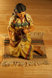 Tabletop Native American Sculpture Stock Photos