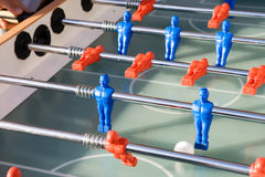 Tabletop soccer Stock Images