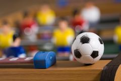 Tabletop soccer Royalty Free Stock Image