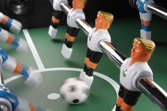 Tabletop soccer Royalty Free Stock Photography