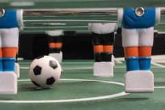 Tabletop soccer, team Stock Image