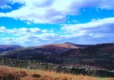 Tabletopberg, Wales Royaltyfri Foto