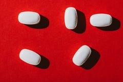 tablets белизна Стоковое Изображение