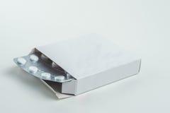 Tablets медицина для здоровий человека Стоковое Изображение RF