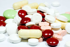 Tablets als Gesundheit Stockbild