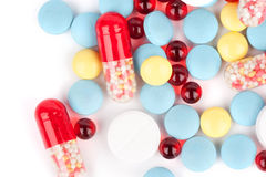 Free Tablets And Capsules Royalty Free Stock Image - 16381956