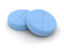 Tablets (Beschneidungspfad eingeschlossen) Lizenzfreie Stockfotos