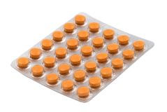 Tablets in the blister pack Stock Photography
