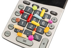 Tablets and calculator Stock Photos