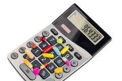 Tablets and calculators Royalty Free Stock Photo