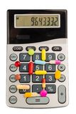 Tablets and calculators Royalty Free Stock Photos
