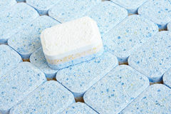 Tablets for dish-washing machine Royalty Free Stock Photography