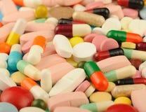 Tablets einen Hintergrund Lizenzfreie Stockfotos