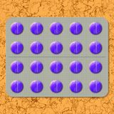 Tablets generated hires texture Royalty Free Stock Images