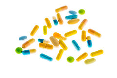 Tablets on a light background Royalty Free Stock Images