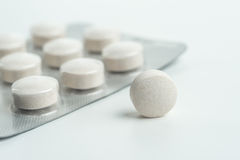 Tablets medicine for human health Royalty Free Stock Image
