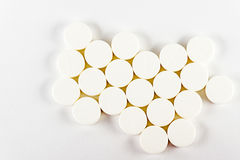 Tablets. Medicine for intake. It is released according to the recipe of the doctor Royalty Free Stock Photo