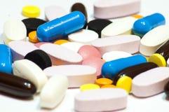 Tablets medicinen Royaltyfri Fotografi