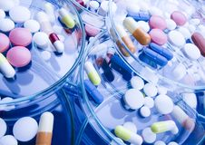 Tablets & Medicines Royalty Free Stock Image