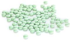 Tablets på vitbakgrund Arkivfoto