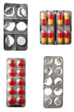 Tablets pills health care medicine Stock Images