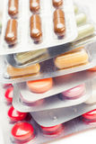Tablets and pills Royalty Free Stock Photo