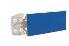 Tablets pills in pack Royalty Free Stock Photo