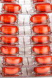 Tablets in plastic packing Stock Photo