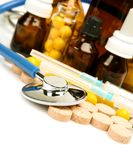 Tablets for treatment Royalty Free Stock Photo