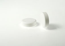 tablets white arkivbilder