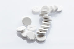 Tablets on white background Stock Photography