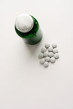 Tablets on a white background royalty free stock image
