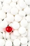 Tablets in white and red Royalty Free Stock Photos