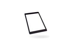 Tablette à l'arrière-plan d'isolement Photos stock