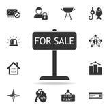 Tablette à vendre l'icône Ensemble détaillé d'icônes de Web Conception graphique de qualité de la meilleure qualité Une des icône illustration stock