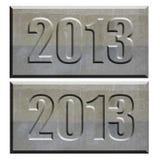 tablette 2013 en pierre convexe et concave Image libre de droits