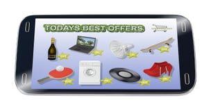 tablette illustration stock