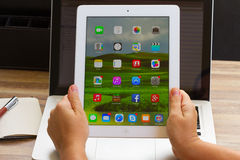 Tablette Apple-Ipad Stockfotografie