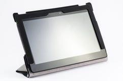Tablette avec le cache mince Photos libres de droits