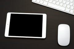 Tablette avec le clavier Image stock