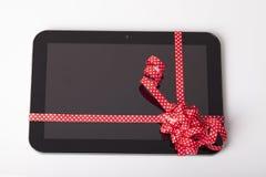 Tablette comme cadeau Images libres de droits